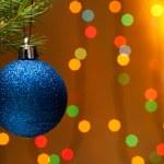 Рождественская елка украшения — Стоковое фото