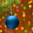 Christmas-tree decoration — ストック写真