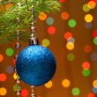 Christmas-tree decoration — Stockfoto