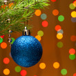 Christmas-tree decoration - Stock Photo