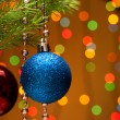 Christmas-tree decorations — Foto de stock #8402424