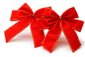 Red bows — Stock Photo