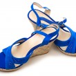 Royalty-Free Stock Photo: Blue shoes