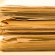 Stack of papers — Stock Photo #9013812