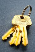 Bunch of keys — Stock Photo