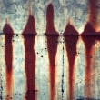 Stock Photo: Streaks of rust.