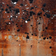 Stock Photo: Rust and tar.