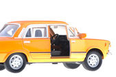 Fiat 125p orange — Stock Photo
