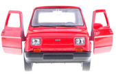 Fiat 126p red. — Stock Photo