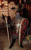Knight in armor — Stock Photo