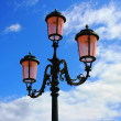 Lantern in Venice - Stock Photo