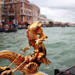 Golden Skate in Venice - Stock Photo