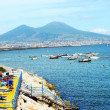 Landscape of Vesuvius - Stock Photo
