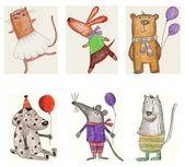 Serie di cartoni animati — Foto Stock