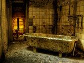 Bath of Plague — Stock Photo