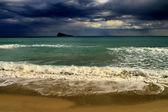 Beautiful exotic beach — Stock Photo