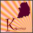 K is for Korea — Stock Vector #8152946