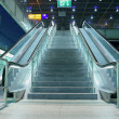 Stair and escalators in a public area - Stock Photo