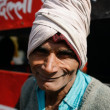 Indian labourer — Stock Photo