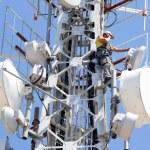 Telecommuncation man — Stock Photo #8044523