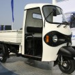 Stock Photo: Three wheeler pickup at autoexpo in delhi, india