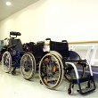 Wheel chairs — Stock Photo