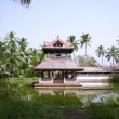 Temple complex in kochi, kerala, india — Stock Photo
