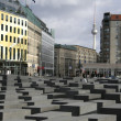 Jewish memorial, berlin, germany — Stock Photo #8044892