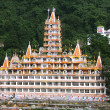 Yoga complex in rishikesh, uttaranchal, india — ストック写真