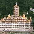 Yogcomplex in rishikesh, uttaranchal, india — Stock Photo #8044975