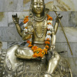 Stock Photo: Statue of lord shiva, delhi, india