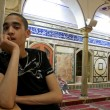 Stock Photo: Arab youngster in mosque in acre, israel