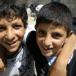 Two palestinian boys playing — Stock Photo #8045009