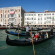 Crowded gondolas — Stock Photo