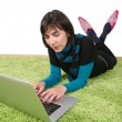 Womand laptop — Foto Stock #8045417