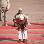 Praying muslim — Stock Photo