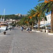 Hvar waterfront — Stock Photo