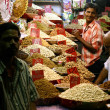 Dry fruit shop in rishikesh, india — Stock Photo
