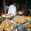 Stock Photo: Scene at local dhaba, delhi, india