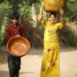 Young rajasthanis — Stock Photo