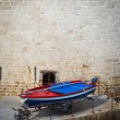 Stock Photo: Colourful fishing boat