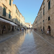 Stradun street in Dubrovnik — Stock Photo #8046729