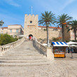 Entrance to old town - Korcula — Stock Photo #8046736