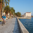 Split waterfront - Stock Photo