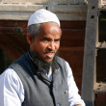 Muslim man — Stock Photo