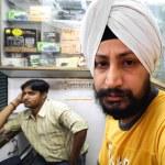 Sikh saleman — Stock Photo #8047007