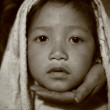 Stock Photo: Young gurung kid