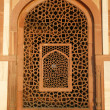 Royalty-Free Stock Photo: Pattern window at Humayun Tomb, Delhi, India