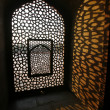 Stock Photo: Pattern window at Humayun Tomb, Delhi, India