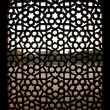 Pattern window at Humayun Tomb, Delhi, India — Stock Photo